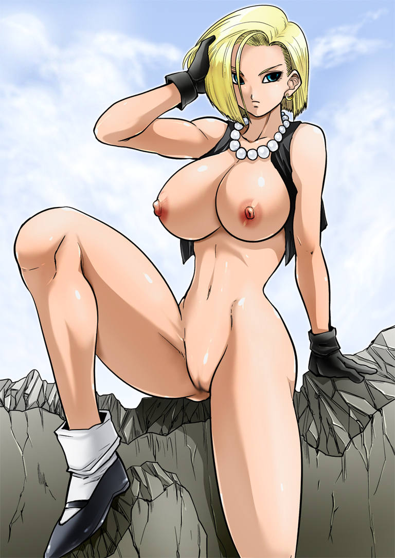 Android 18naked big fotos nackt images