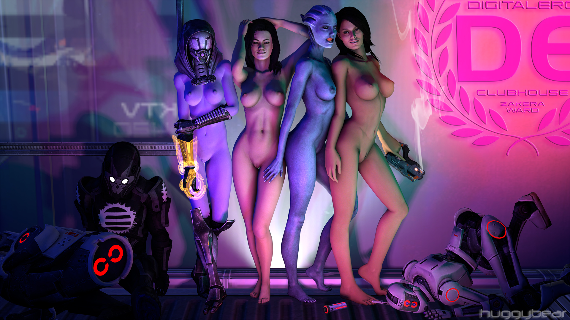 Mass effect erotic smut video