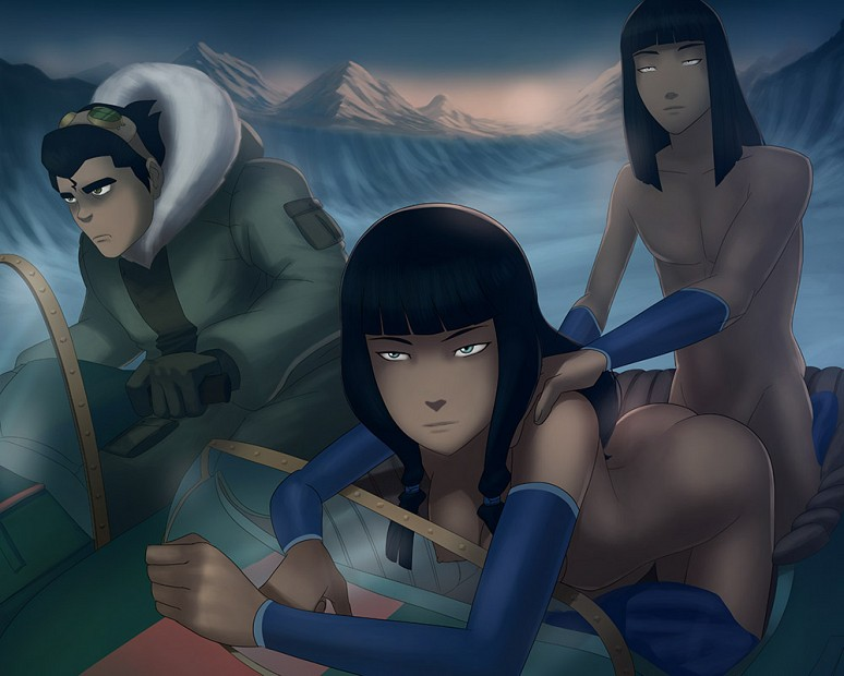 Bolin, Desna and Eska - SunsetRiders7 - Avatar