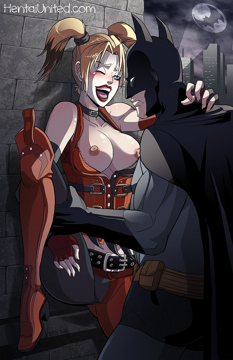 Harley Quinn And Batman Dc Ics