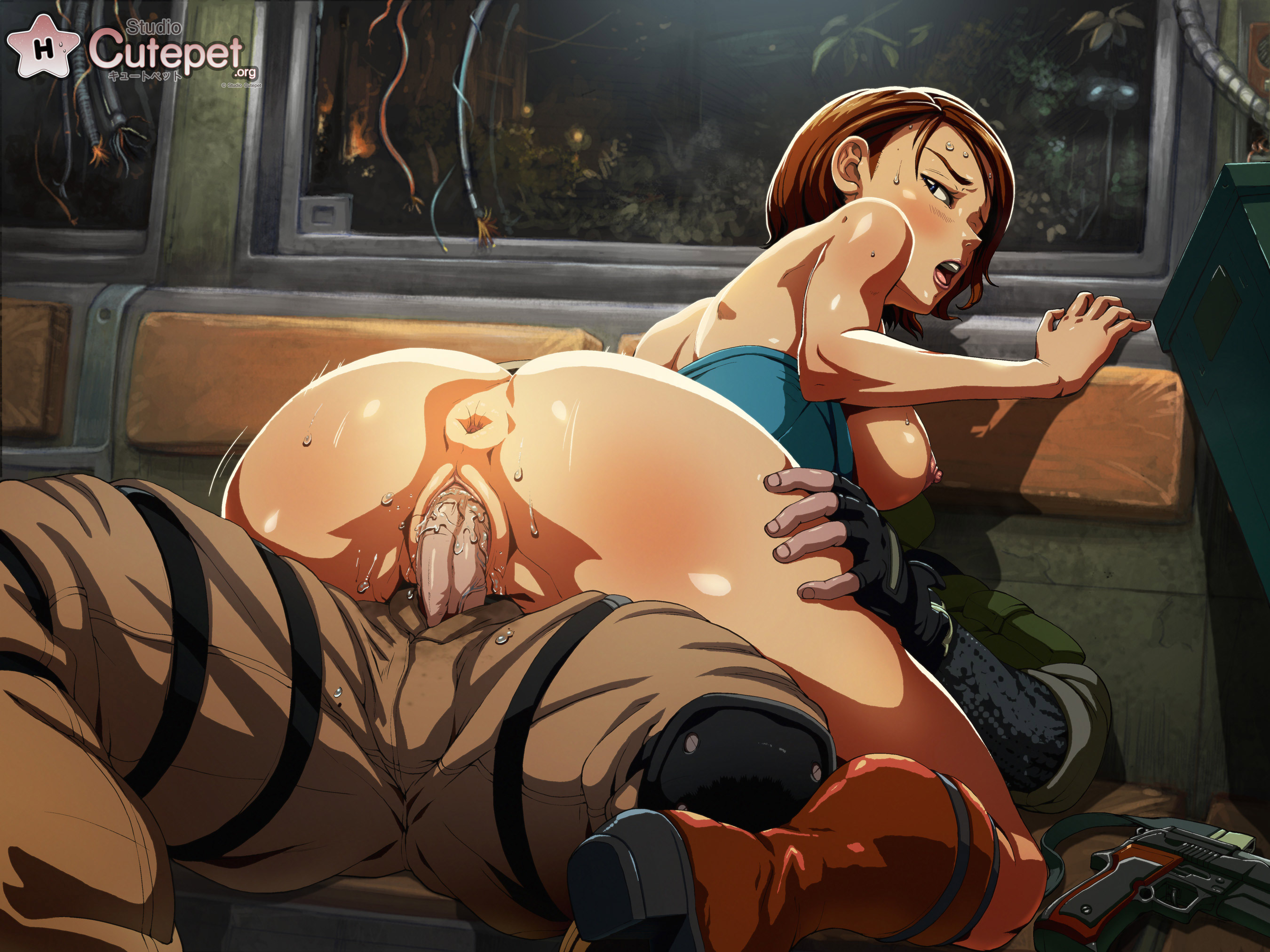 Raccoon girl fucked by demon hentai porn scene