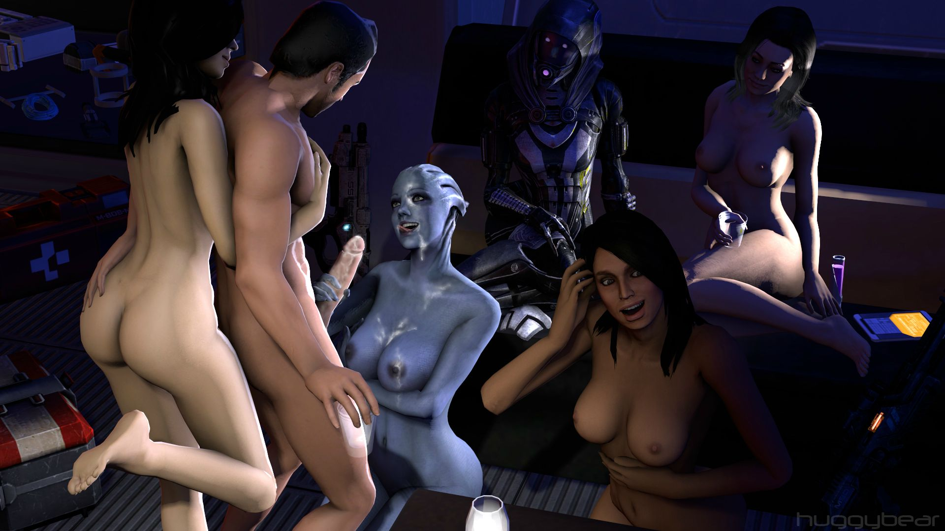 Mass effect ashley williams nude mod hentia scene