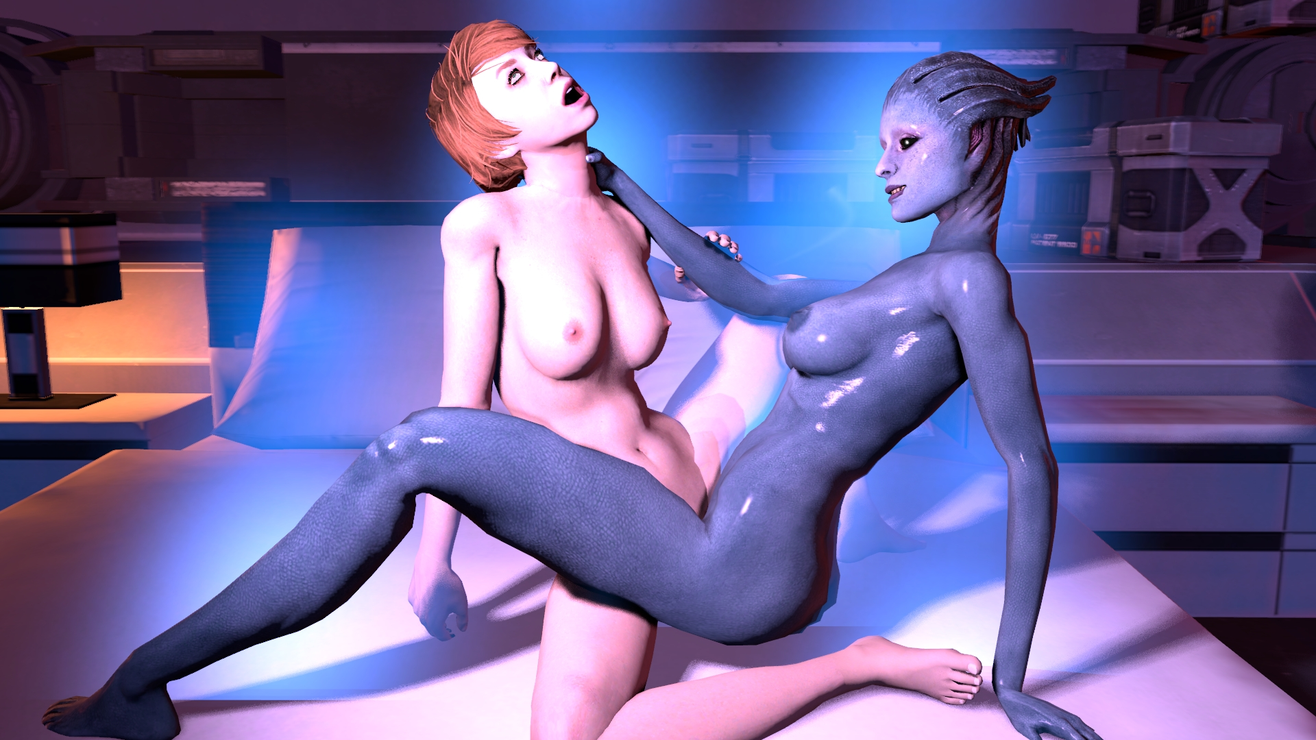 Mass effect toons naked sexy girls nude image