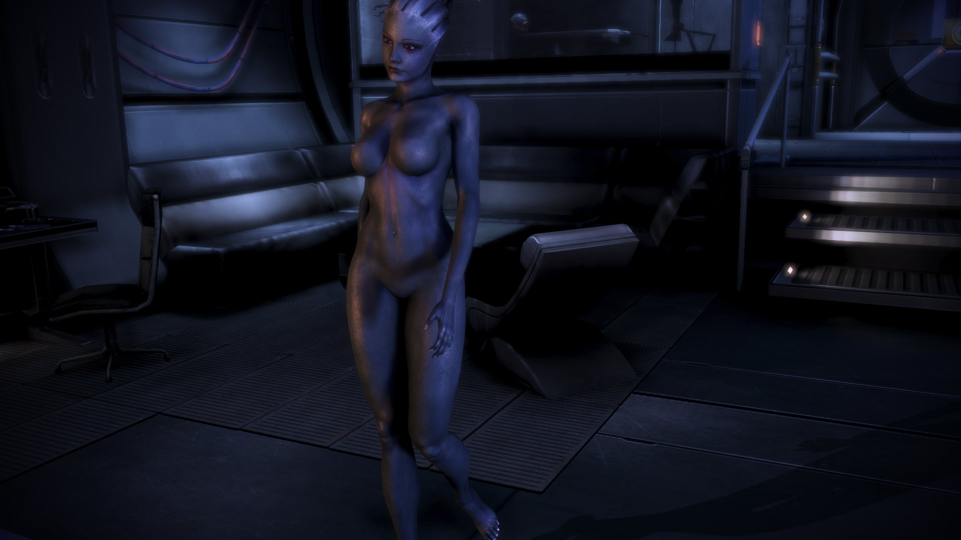 Mass effect nude art sexy photo