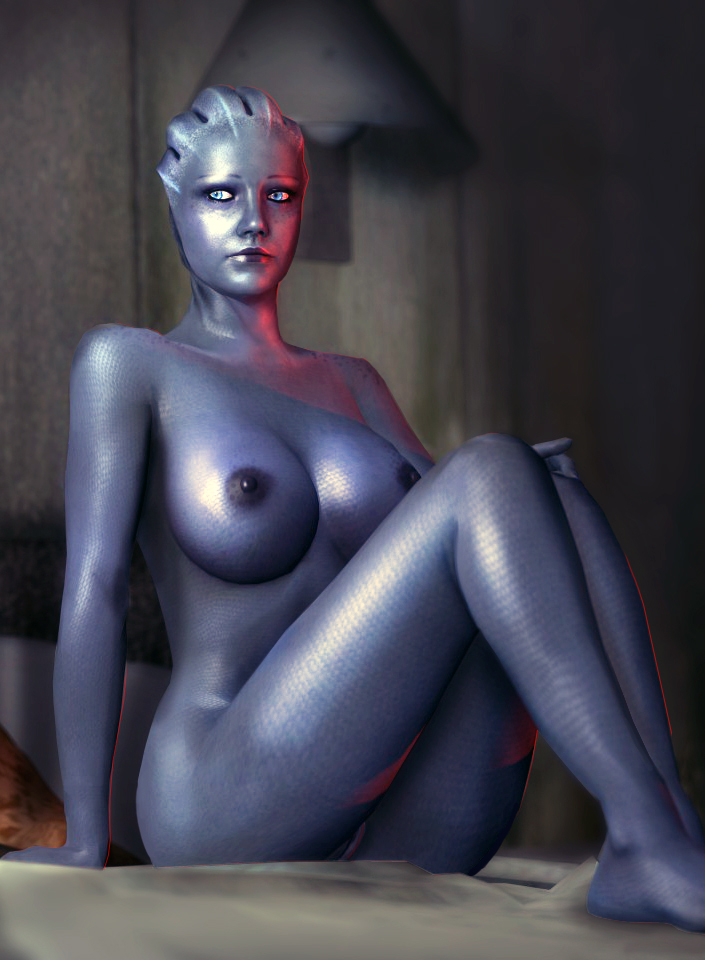 Mass effect asari cosplay