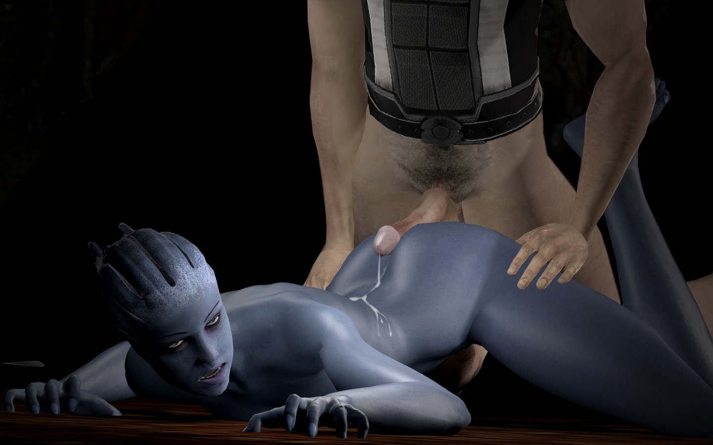 Liara mass effect porn erotic scene