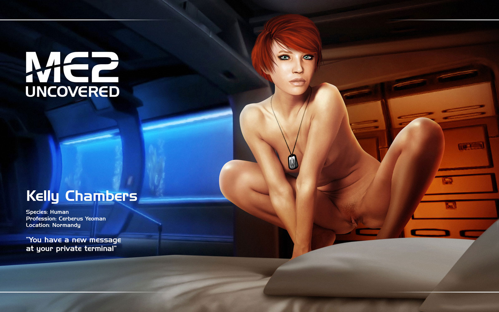Mass Effect Naked Ladies