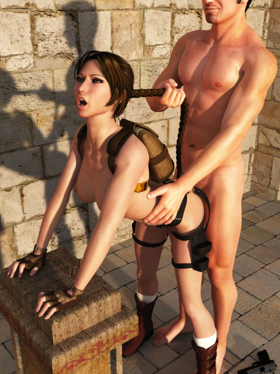 Sexy naked cartoon porn lara croft tomb  adult clips