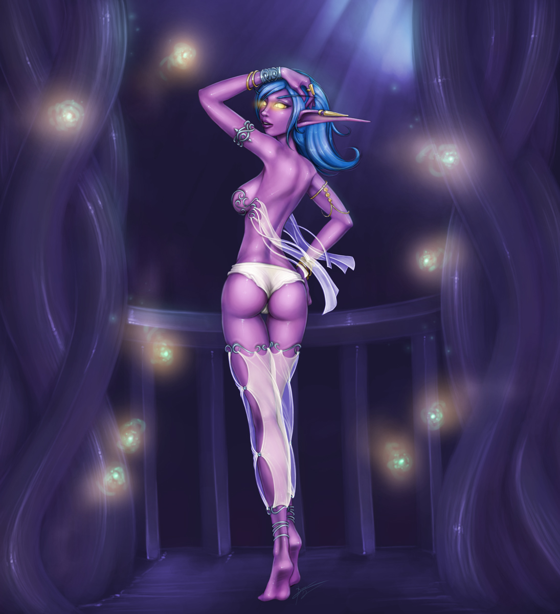 Hot night elf porn fucks picture