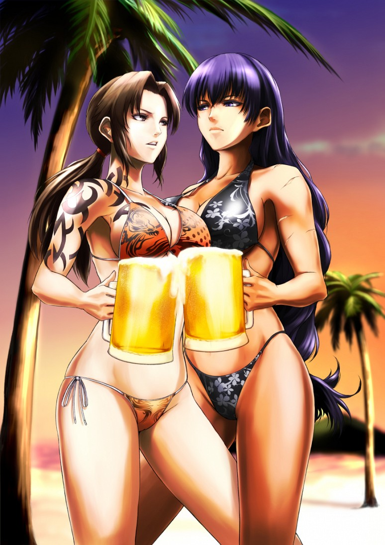 Revy and Roberta - Din - Black Lagoon