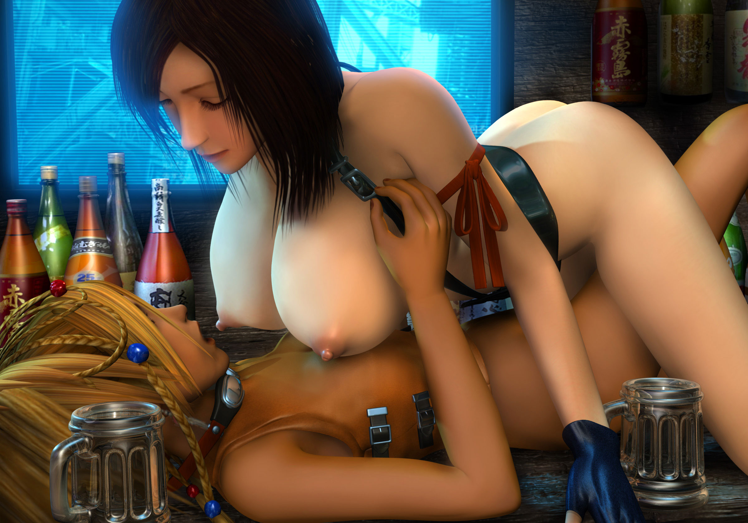 Tifa nude 3d model download erotica clips