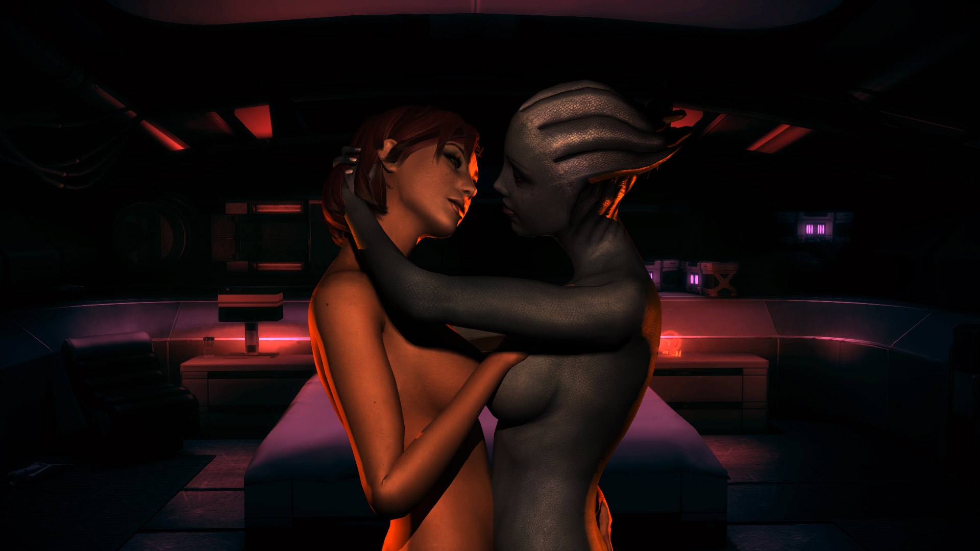 Mass effect porn tail adult clip