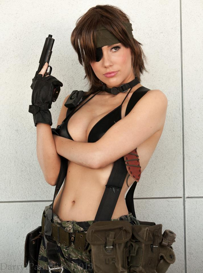 Solid Snake - Crystal Graziano - Metal Gear Solid