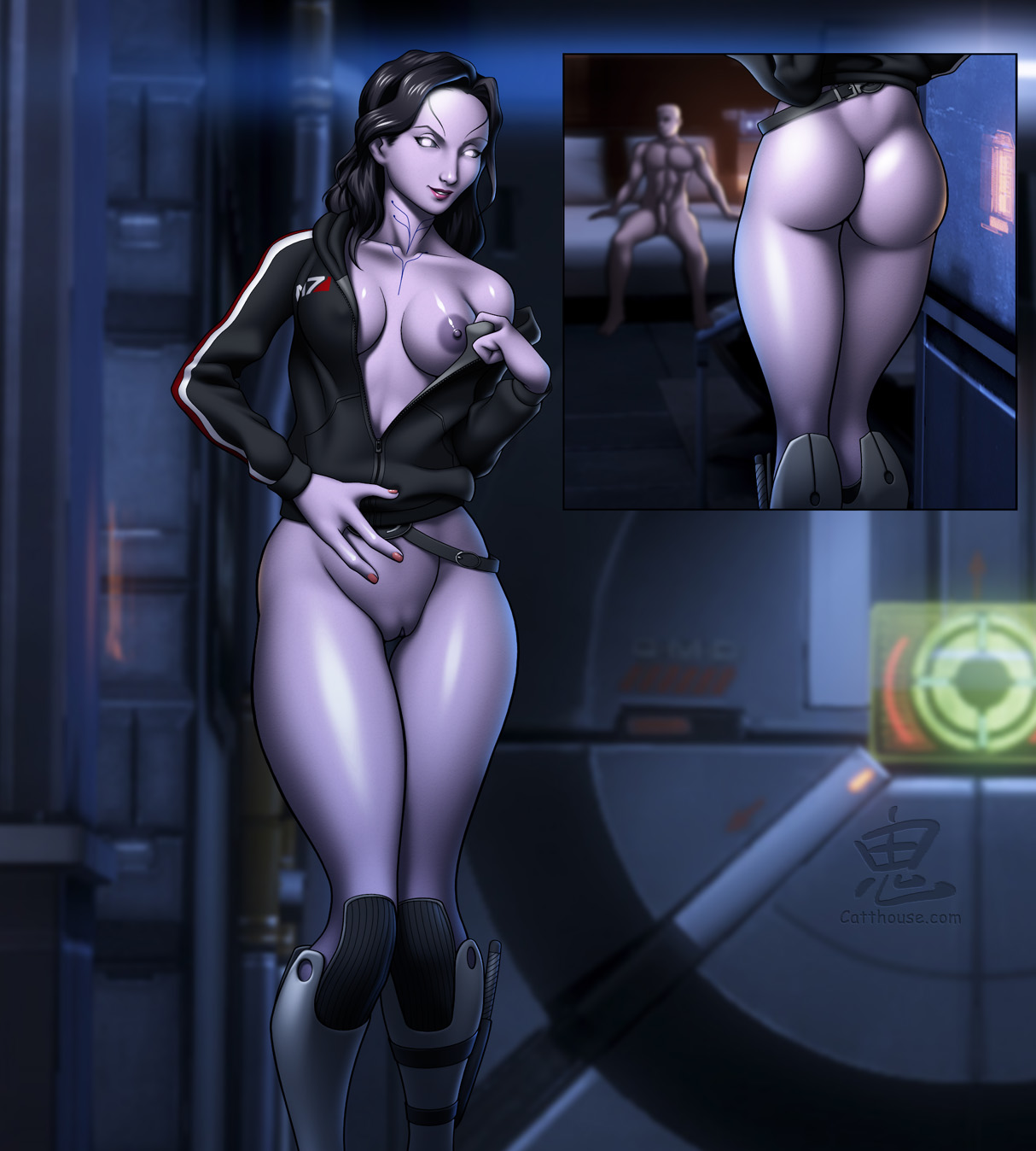 Mass effect XXX porn tube