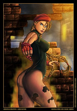 Cammy - Diabolumberto - Axel Oliver - Street Fighter