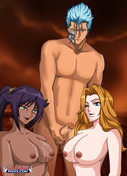 Grimmjow's Lucky Day | Bleach Hentai Image