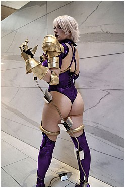 Isabella Ivy Valentine - Soul Calibur Hentai Cosplay