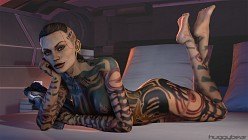 Jack - HuggyBear - Mass Effect