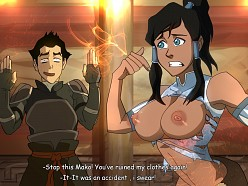 Mako and Korra - Ryui - Avatar