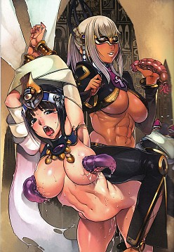Menace and Anarista - Queen's Blade Hentai Image
