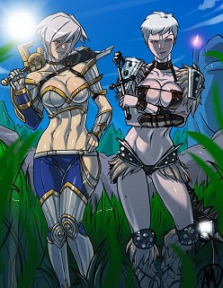 Riven and Sejuani - Ganassa - League of Legends