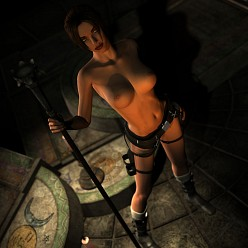 Tomb Of The Naked Goddess | Tomb Raider Hentai Image