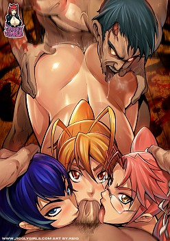 Zombie Gangbang | Highschool Of The Dead Hentai Image