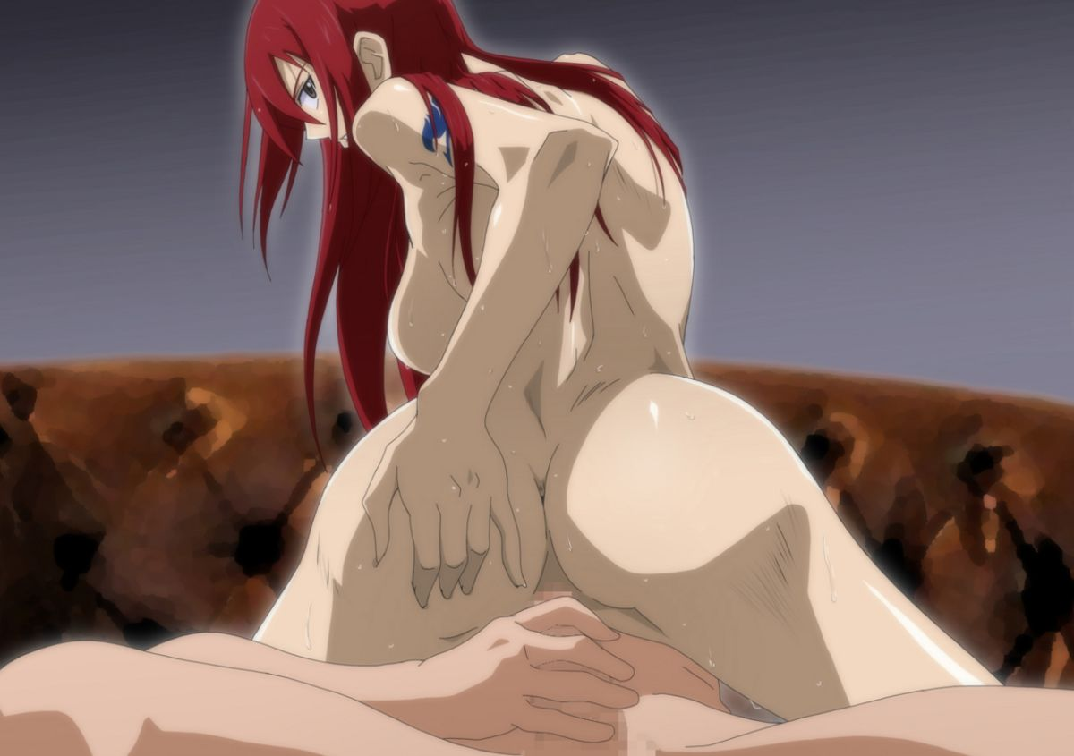 erza scarlet   fairy tail hentai image