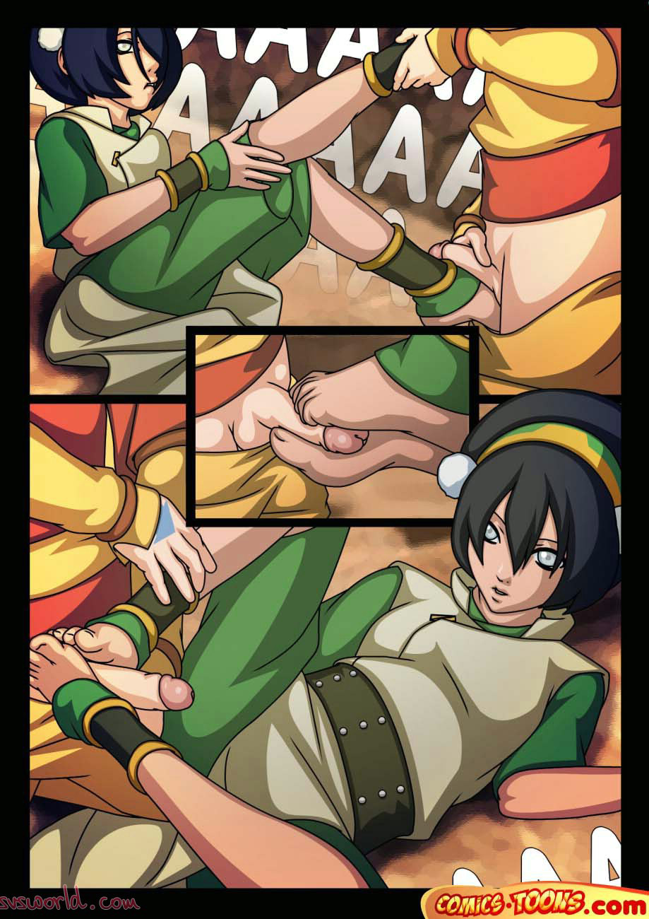 toph and aang hentai